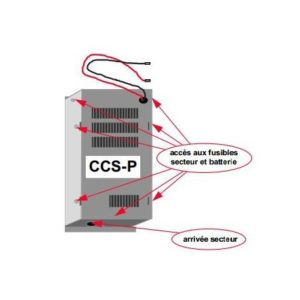 Alimentation CCS-P