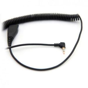 AXTEL CordonQD/2,5mm jack cord.coiled Neuf