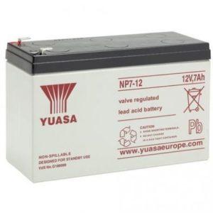 Batterie Yuasa 12V 7Ah NP7-12